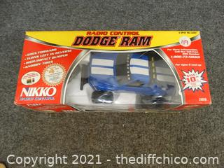 Nikko Radio Control Control Dodge Ram Truck NIB