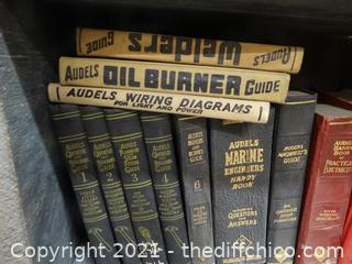 Old Books In Wood Crate