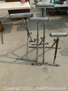 Metal Rollers On Stands