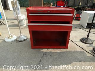 Metal Red Tool Chest