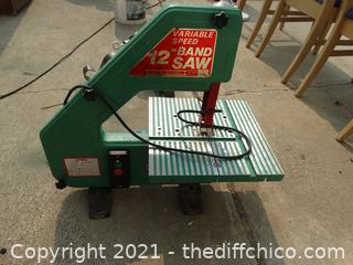 """Working Variable Speed 12""""  Band SAW"""