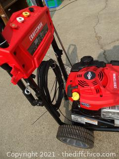 Working Craftsman Pressure Washer With Different Nozzles