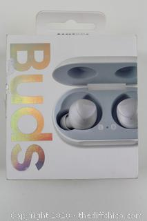 Authentic SAMSUNG GALAXY BUDS by AKG White Bluetooth Earbud Wireless Headphones