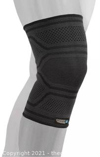 2-PACK Copper Fit ELITE Copper Infused Knee Compression Sleeve S/M