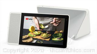 "Lenovo 8"" Smart Display W/Google Assistant SOFT GRAY - NEW SEALED!"