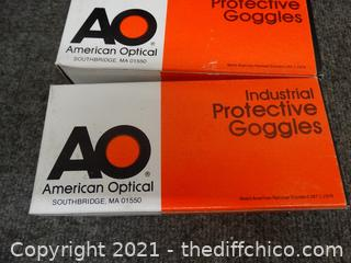 American Optical Protective Goggles
