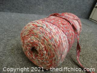 Large Spoon Of Wide Yarn