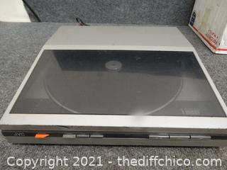 Working JVC Record Player