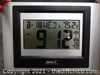 Sky Scan Atomic Clock