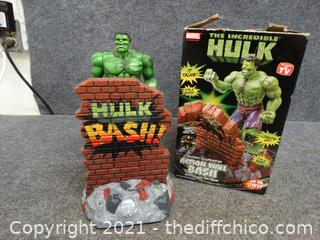 The Hulk Quartz Clock & Bank