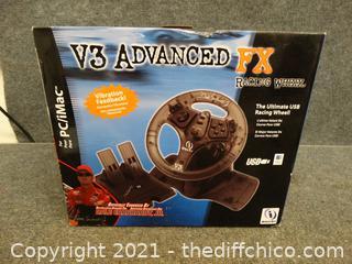 New V3 Advanced FX Racing Wheel