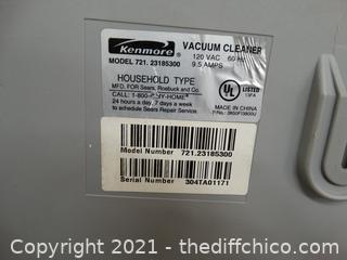 Kenmore Vacuum Cleaner Wks
