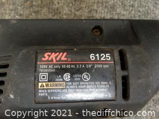 """Working Skil 3/8"""" Drill"""