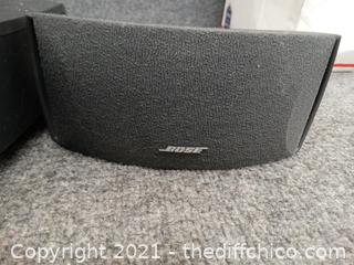 Bose Stereo With Speakers No power cord