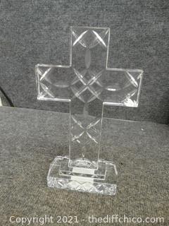 Scandinavian Lead Crystal Cross