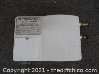 Instant Flow Water Heater