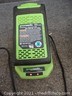 Working Green Works Battery & Charger