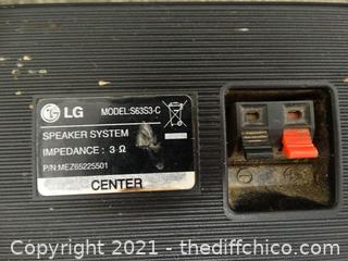 LG Speaker System Untested