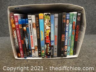 DVDS & Blu Rays