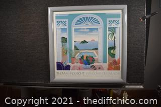 Framed Thomas McKnight Print
