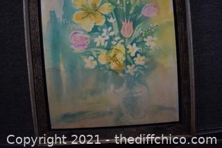 Framed Lithograph
