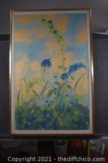 Framed Original Signed