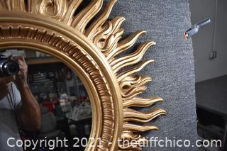 34in dia Mirror