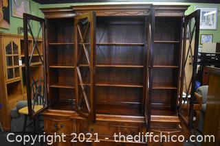 Awesome 2 Piece Hutch w/shelves