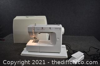 Working Kenmore 7 Sewing Machine w/cover