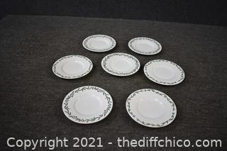 7 Pieces of Replacement Plates