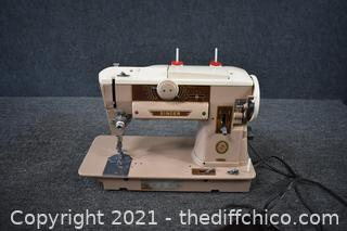 Working Singer Sewing Machine Model 401A and More
