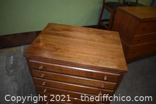 Rolling 10 Drawer Cabinet