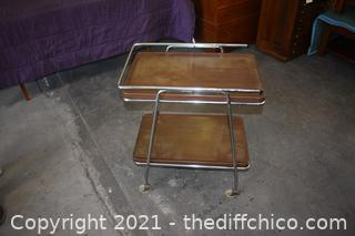 Rolling Vintage Table