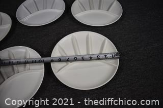 5 Divided Plates