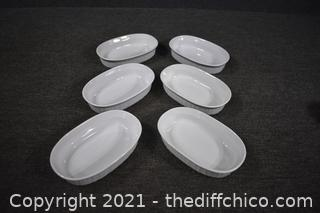 6 Corning Ware Dishes