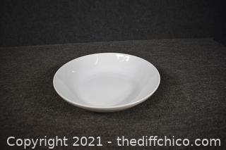 White Pasta or Salad Bowl