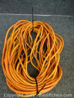 100 Ft Orange Ext Cord