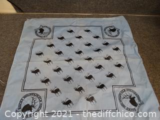 Rocky Mountain Elk Foundation Handkerchief