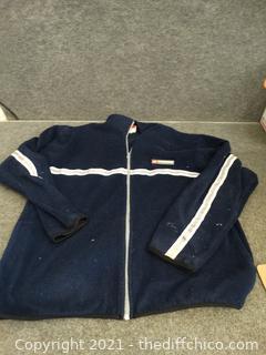 United Zip Up Sweatshirt XL