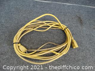 30Ft Yellow Ext Cord