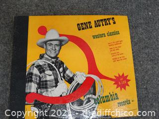 Gene Autry's Western Classic Records