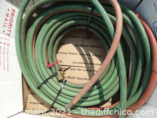 25 FT Victor OXY ACT Hoses