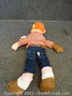 "Howdy Doody Puppet 21"" Tall"