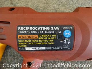 Chicago Electric Reciprocating Saw
