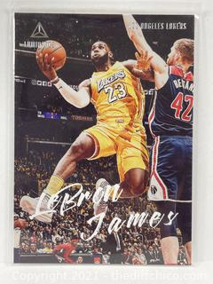 2019-20 Chronicles Luminance Lebron James #162 Lakers