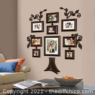NEW Wallverbs™ Family Tree 9-Piece Family Tree Collection