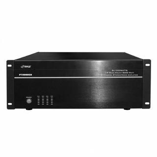 ($389) Pyle PT8000CH 19'' Rack Mount 8000 Watt 8 Channel Stereo/Mono Amplifier