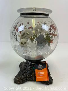 ($35.00) HYDE and EEK Animated Haunted Fish Bowl