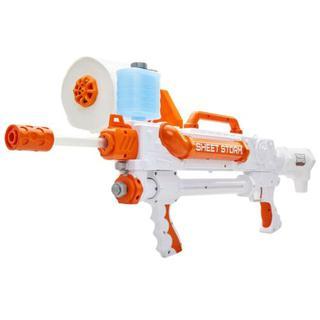 NEW Toilet Paper Blasters Sheet Storm Toy Blaster Shoots Rapid Fire TP Spitballs