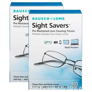 NEW Bausch & Lomb Sight Savers Lens Cleaning Tissues, 200 Count
